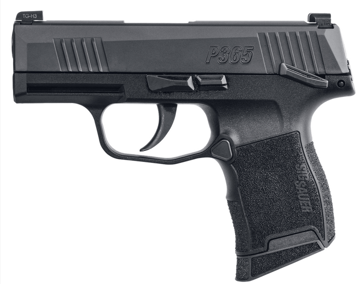 SIG SAUER P365 9MM 3.1'' MANUAL SAFETY MICRO COMPACT PISTOL
