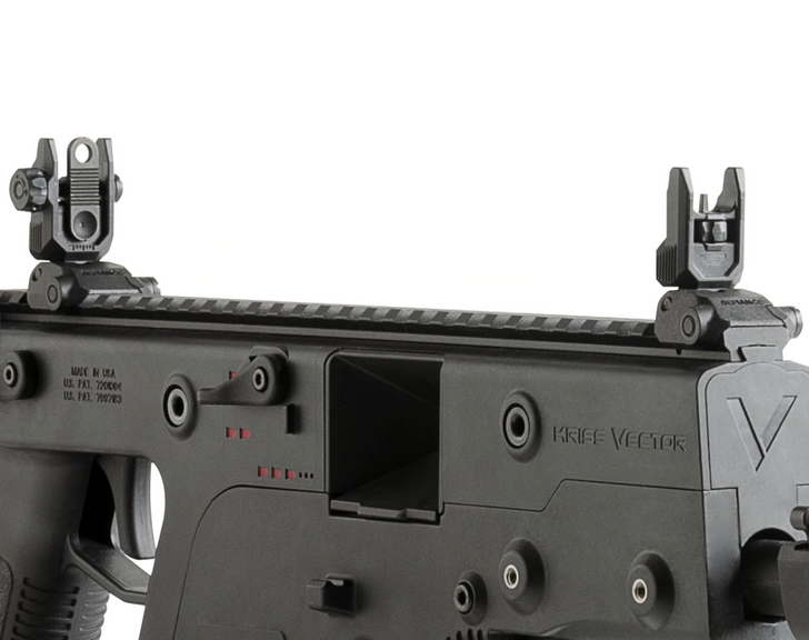 KRISS VECTOR DEFIANCE FLIP UP POLYMER FRONT SIGHT - BLACK