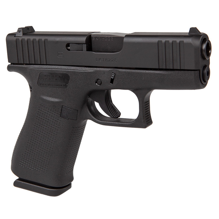 GLOCK 43X 9MM PISTOL - BLACK