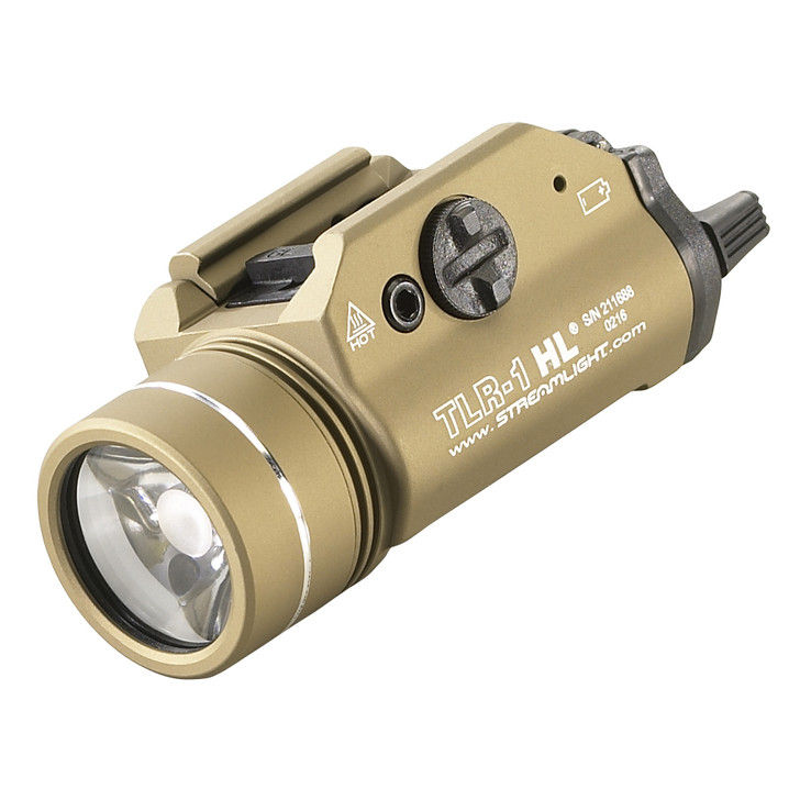 STREAMLIGHT TLR-1 HL FDE 800 LUMEN LED TACTICAL FLASHLIGHT