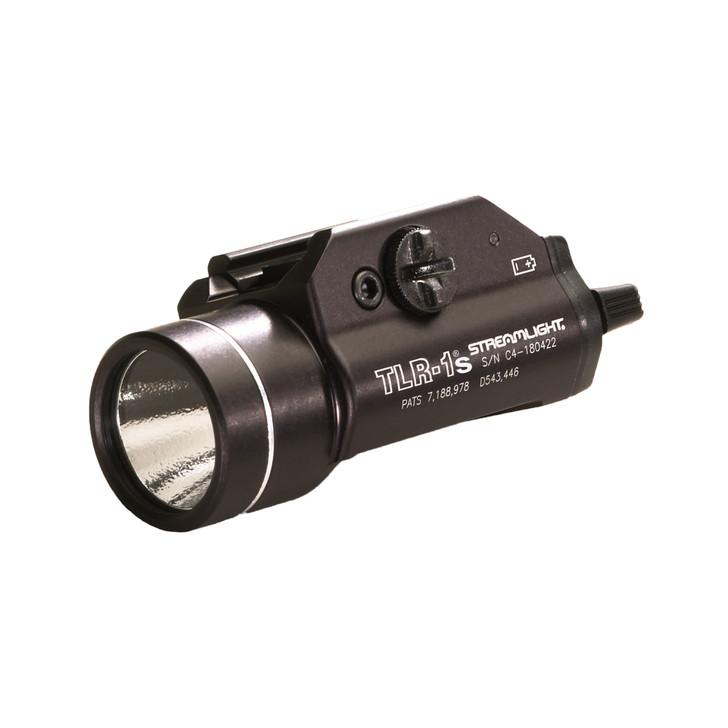 STREAMLIGHT TLR-1S TACTICAL LIGHT 300 LUMEN LED STROBE BLACK