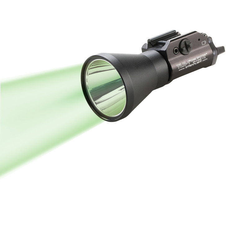 STREAMLIGHT TLR-1 GAME SPOTTERS C4 GREEN LED 150 LUMENS  BLACK