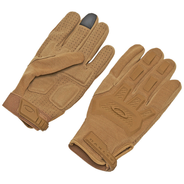 OAKLEY STANDARD ISSUE SI FLEXION T GLOVE LARGE - COYOTE TAN