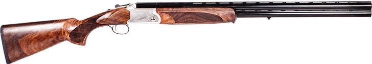 "ATI ATIGKOF12SVE CAVALRY SVE 12 GAUGE SHOTGUN 28"" BARREL 3"" CHAMBER 3 ROUND RIGHT HAND - BLUED FINISH WITH WOOD STOCK"