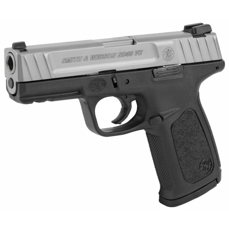 SMITH & WESSON MODEL SD40VE FULL SIZE 40 S&W 14 ROUND - BLACK/SILVER