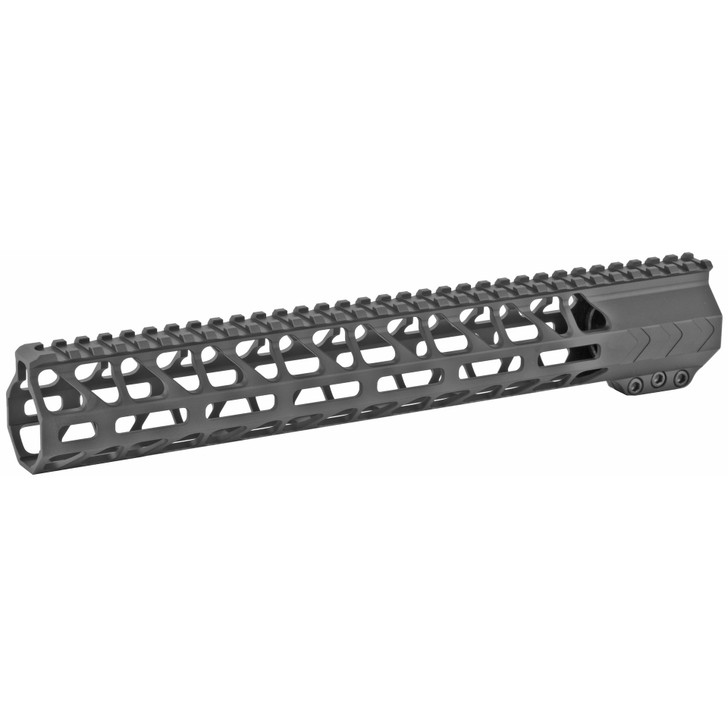"BATTLE ARMS DEVELOPMENT INC 13"" WORKHORSE RAIL MLOK FREE FLOAT - BLACK"