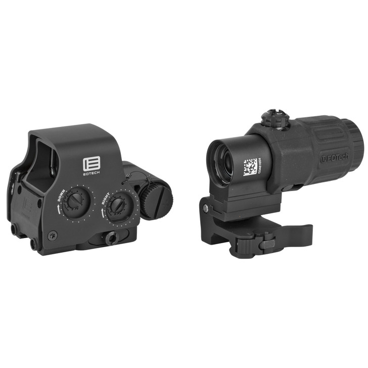 EOTECH HOLOGRAPHIC HYBRID SIGHT EXPS2-2 SIGHT WITH G33 MAGNIFIER - BLACK