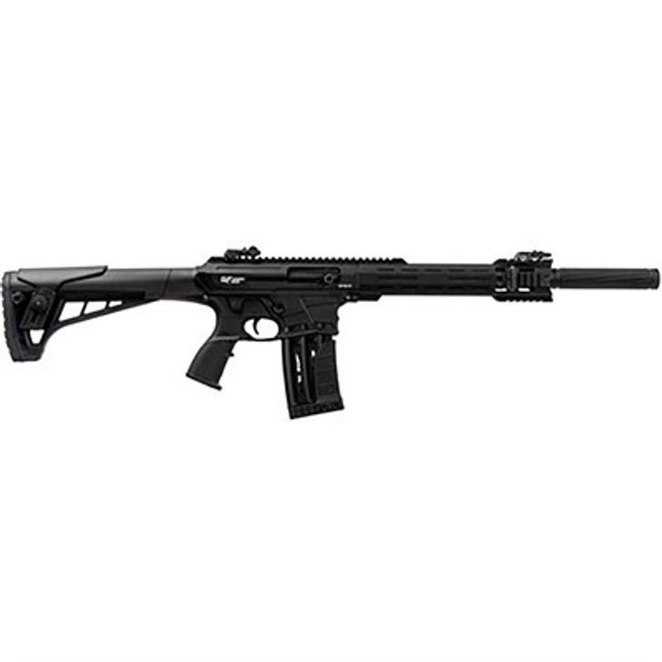 "GFORCE ARMS AR-12 12 GAUGE 20"" 5+1 ROUNDS FLIP UP SIGHTS  SEMI AUTO SHOTGUN - BLACK"