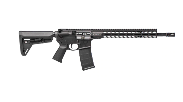 "STAG ARMS STAG 15 TACTICAL RH QPQ 16"" 5.56 RIFLE STAG15000122 - BLACK"