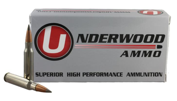 UNDERWOOD AMMO.308 WINCHESTER 144 GRAIN FLASH TIP SOLID MONOLITHIC MATCH HUNTING AMMUNITION