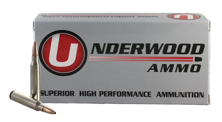 UNDERWOOD AMMO .223 REMINGTON 62 GRAIN CONTROLLED CHAOS® SOLID MONOLITHIC HUNTING & SELF DEFENSE AMMO