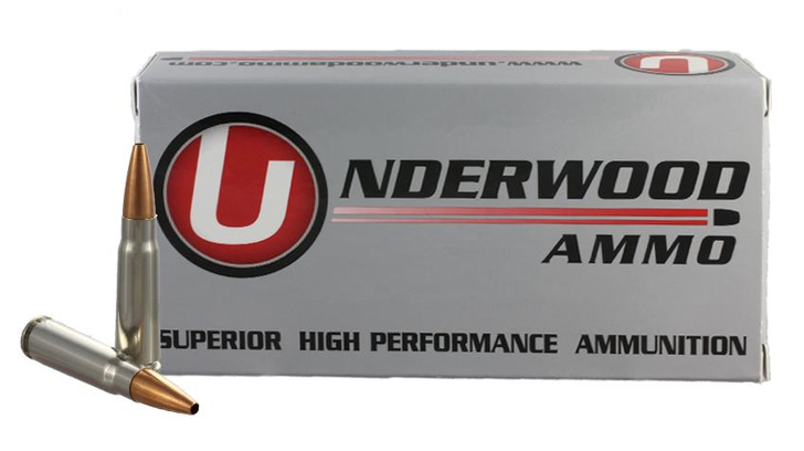 UNDERWOOD AMMUNITION 7.62x39MM 123 GRAIN CONTROLLED CHAOS® SOLID MONOLITHIC HUNTING & SELF DEFENSE AMMO