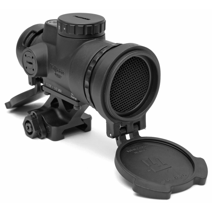 TRIJICON MRO PATROL RED DOT 1X25MM 2 MOA WITH LOWER 1/3RD CO-WITNESS MOUNT - MATTE BLACK