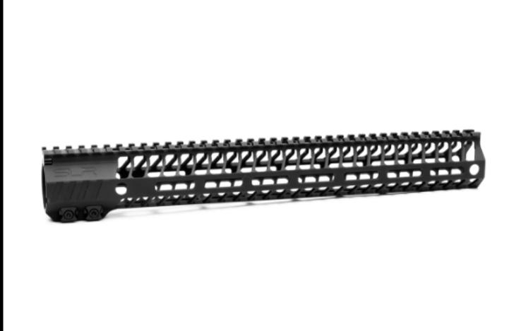 "SLR RIFLEWORKS HELIX 15"" MLOK HANDGUARD F MODEL - BLACK"