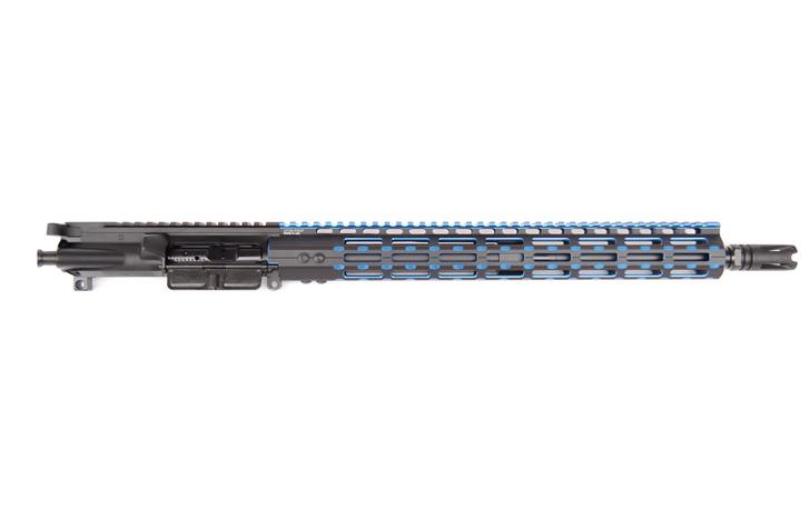 "458 SOCOM 16"" BLUE M-LOK FREE FLOAT COMPLETE UPPER"