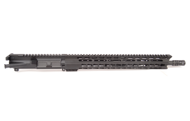 "5.56 16"" KEYMOD SHARKMOUTH FREE FLOAT COMPLETE UPPER"