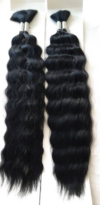 Braiding Hair-Human Hair Blend Wet And Wavy-2 Packs