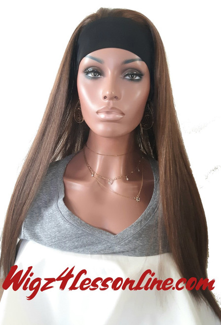 "22"" Headband Heat Retardant wig"