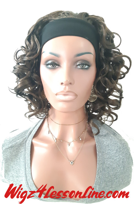 "14"" Synthetic Headband Wig"