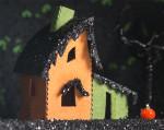 Casper's Cottage - Creepy Coffin Glitter House Kit