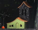 Frankie's Nursery - Creepy Coffin Glitter House Kit