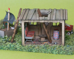 True2Scale 1/4 scale child's Clubhouse Kit - interior