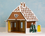 Quarter Scale Gingerbread Post Office Kit