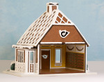1:48 Gingerbread Post Office Kit - Structure Only- RETIRED