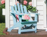 quarter scale 1:48 wood adirondack chair kit