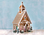 Quarter Scale Gingerbread Chapel Kit