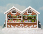 1:48 Gingerbread Market Stall Kit