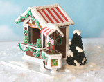 1:48 Gingerbread Market Scene with Chestnut Cart - Complete Kit