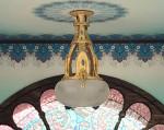 quarter scale 1:48 Victorian chandelier