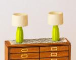 1:48 miniature lamps