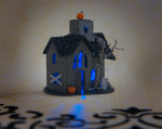 Halloween Glitter House Kit