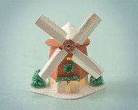 Copper Windmill Glitter House Kit