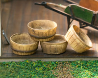 quarter scale bushel basket kit