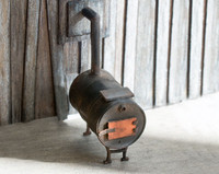 Quarter scale potbelly stove kit