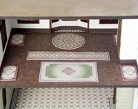 quarter scale rugs for C'est La Vie boutique