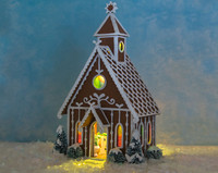 The LED Lighting Kit for the Gingerbread Wedding Chapel