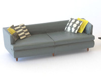 1:48 quarter scale sofa