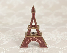 Quarter Scale Eiffel Tower Chocolate Display