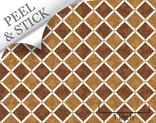 1:48 Peel and Stick Flooring - Pandora; Brown