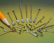 quarter scale, 23 piece garden tool set