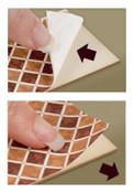 1:48 Peel and Stick Flooring - Walnut Parquet