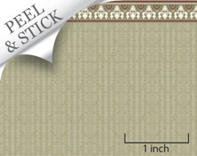 quarter scale peel and stick wallpaper