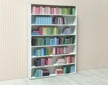 1:48 quarter scale 3d printed books