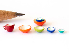 1:48 (quarter scale) mixing bowls and batter bowl for miniature scenes.