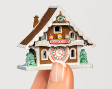 1:144 Micro Scale Gingerbread Pretzel Stall and Wurst Wagon Kit for Christmas Market Scene