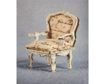 1/4 scale Bella Rustica chair by Suzanne and Andrew's Miniatures